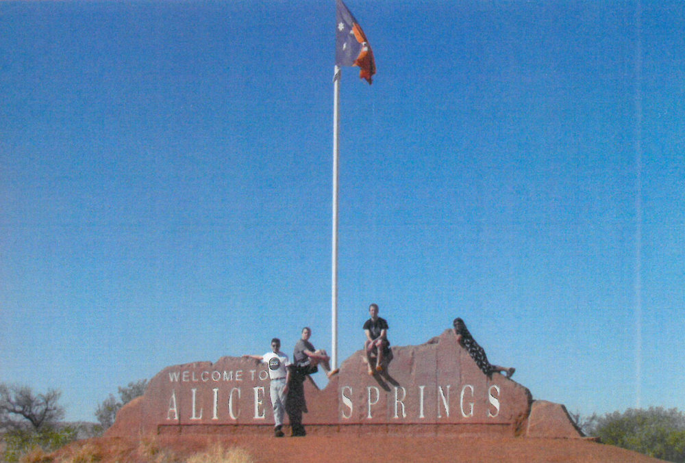 Coming in to Alice Springs.