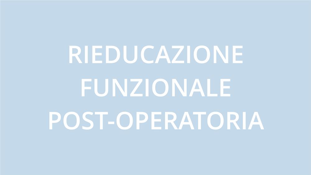 fisioterapia ughetta piacenza - rieducazione funzionale post-operatoria