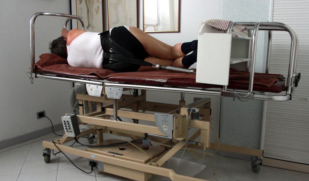 fisioterapia ughetta piacenza - lettino autotrazione