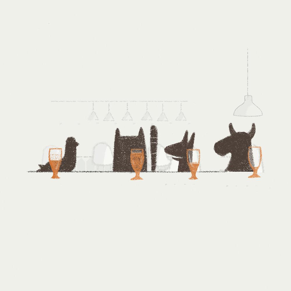 Pigeon,cat,dog and bull.jpg
