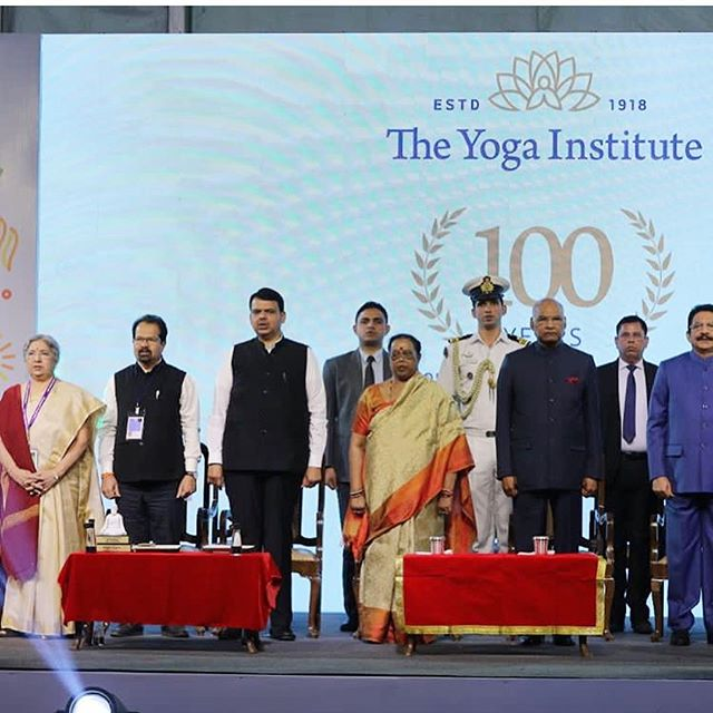 Devising a Strategy and Rebranding for India's oldest and largest Yoga Institute, honored and inaugurated by the President of India. All rights reserved with @designstack and Priyanka Photos by @theyogainstituteofficial
