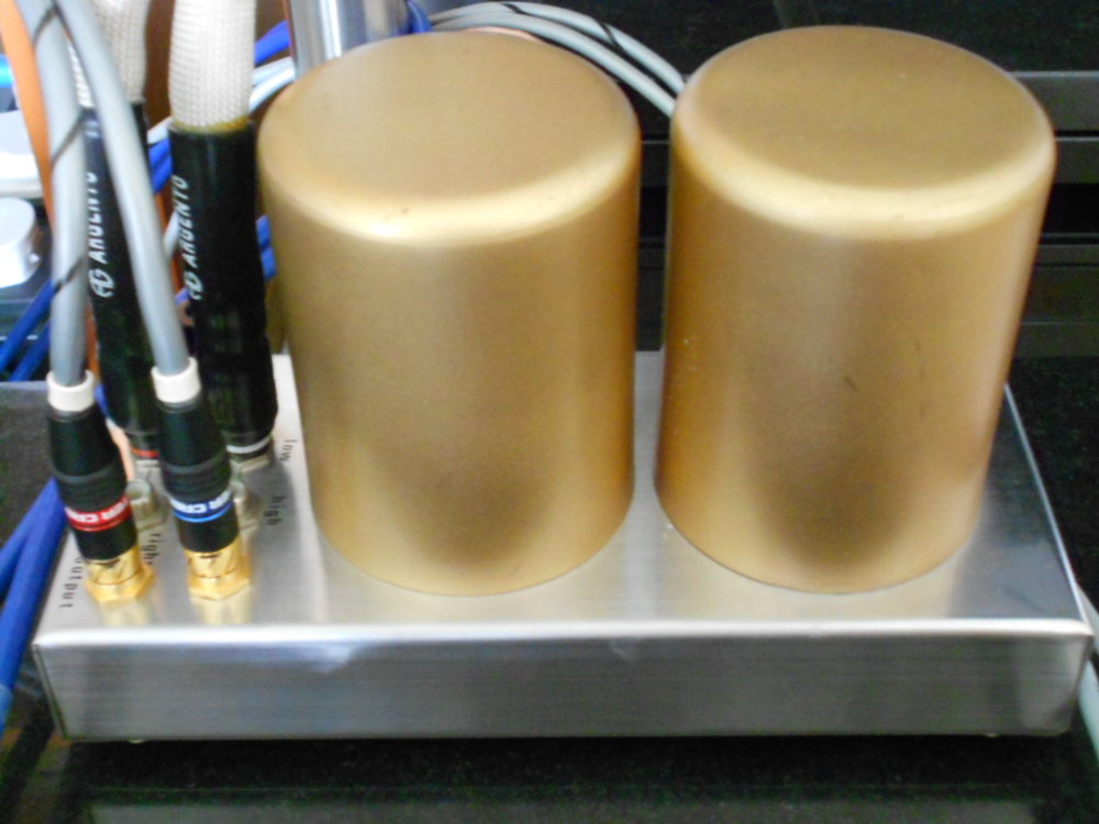 A Yamamura designed moving coil cartridge step-up transformer.