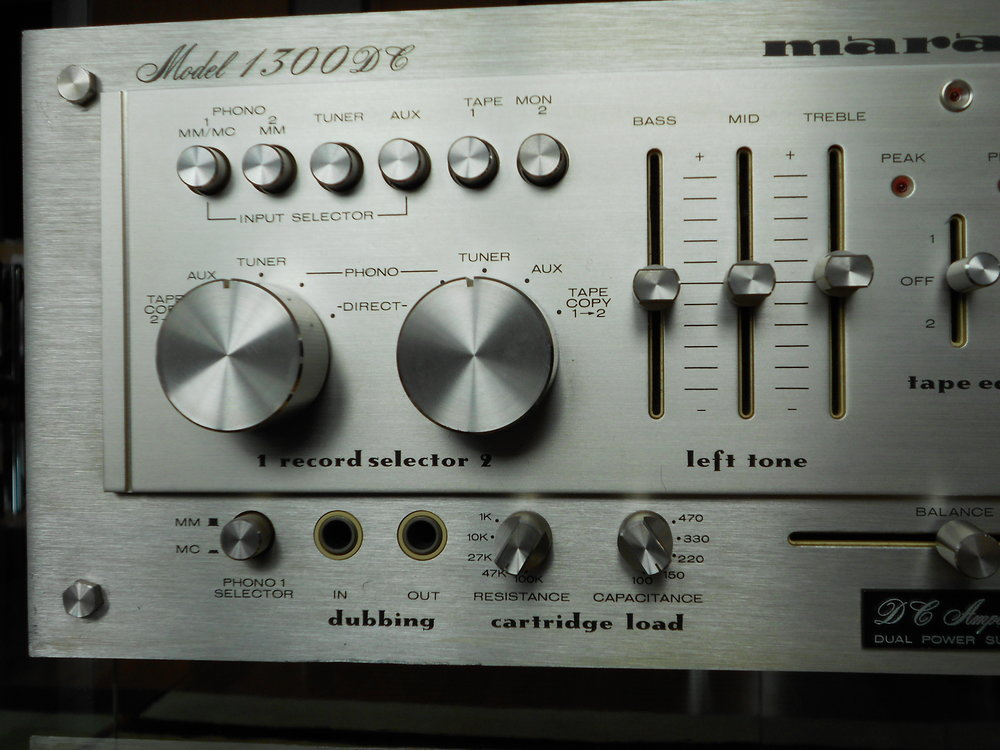 Marantz 1300DC amplifier