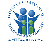 Logo for the Florida Department of Children and Families