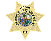 Logo for the Florida Department of Juvenile Justice.