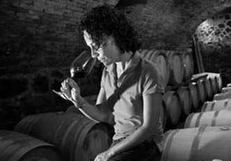Elisabetta Barbieri   – Winemaker    Valerio's daughter and graduate of the prestigious  Università Scienze e Tecnologie Agrarie di Firenze.  Elisabetta was trained by Giacomo Tachis, father of modern winemaking in Italy. Her palate is one of the finest of the younger generation of women winemakers