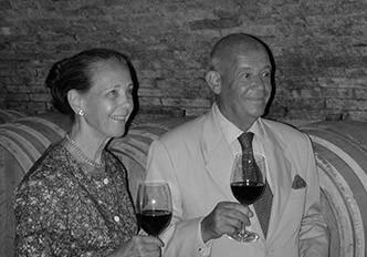 Ilaria Romanelli (daughter of Romano Romanelli) with Arnaud Faure (her french husband)   The two have overseen RISECCOLI's  evolution into the 21st century. Their philosophy has always been to express the exceptional terroir at RISECCOLI and produce wines for the pure enjoyment of their family and friends all over the world.