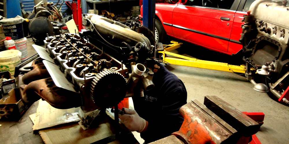 European auto repair services that include engine rebuild services