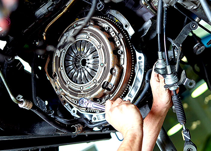 Car shop that rebuilds European Car transmissions