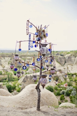 Evil Eye Tree, Goreme, Cappadocia