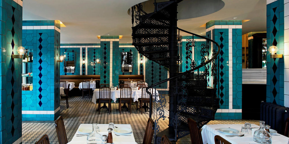 Karaköy Lokantası is a modern spin on the traditional Turkish restaurant with interiors designed by Autoban.