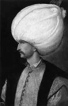 Sultan Suleiman the Magnificent.
