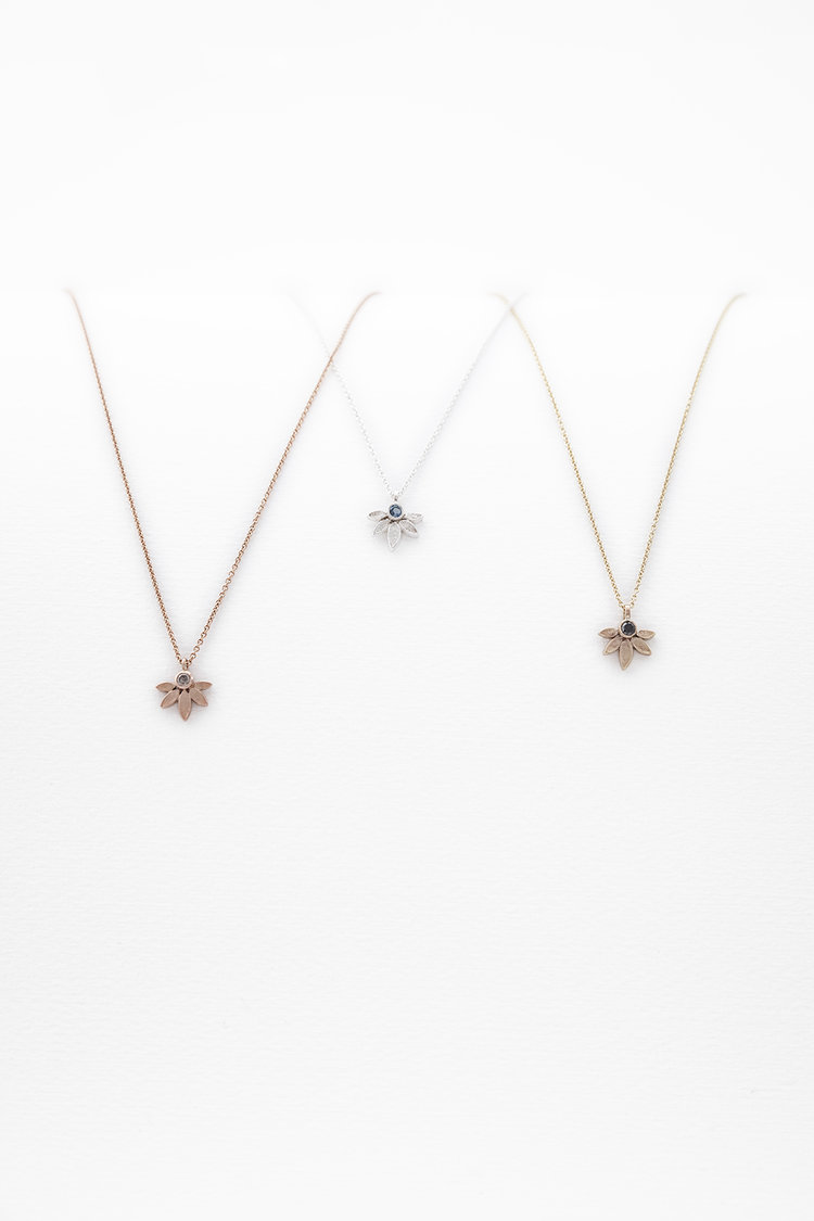 Petal anna wales lotus pendants in silver and golds audiocablefo