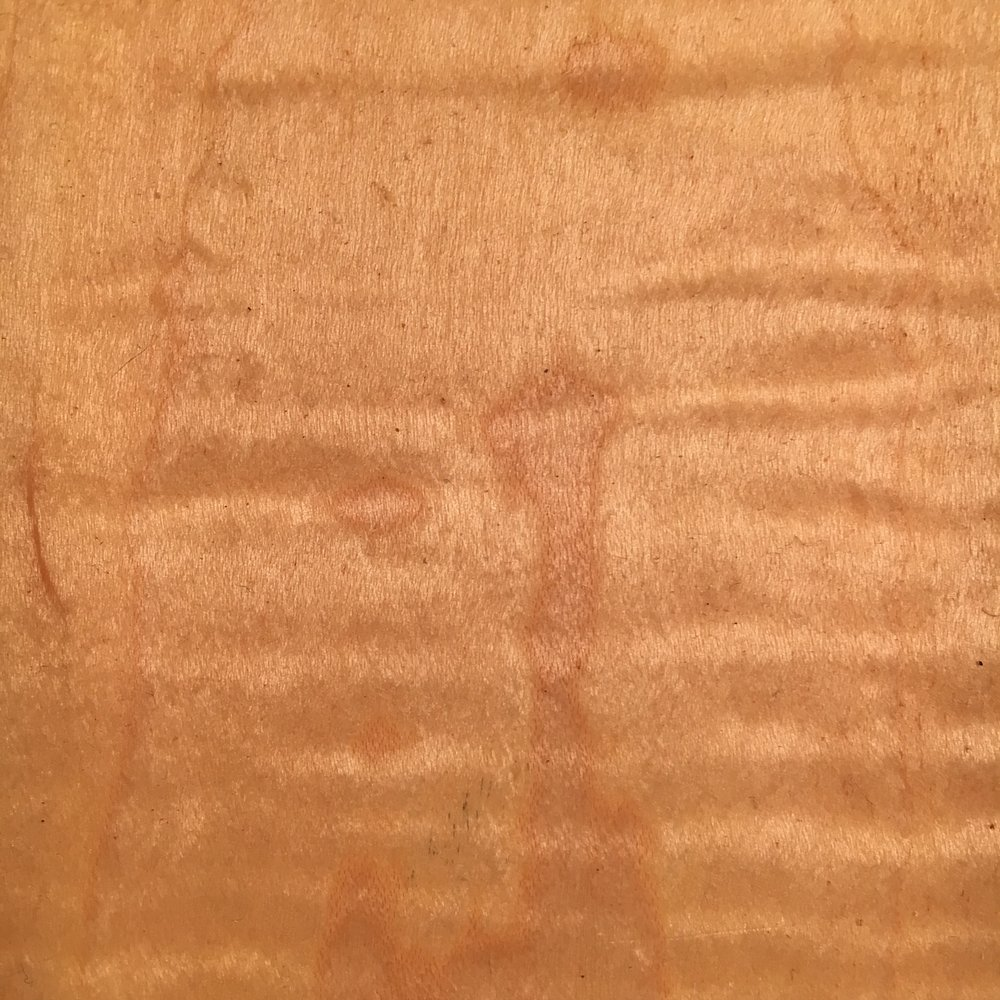 Figured Curly Maple
