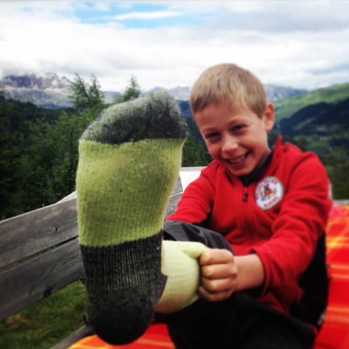 EXTRA FINE MERINO SOCKS - Trekking - Hiking - Ice Climbing - Via Ferrata - Scialpinismo - Alpinismo