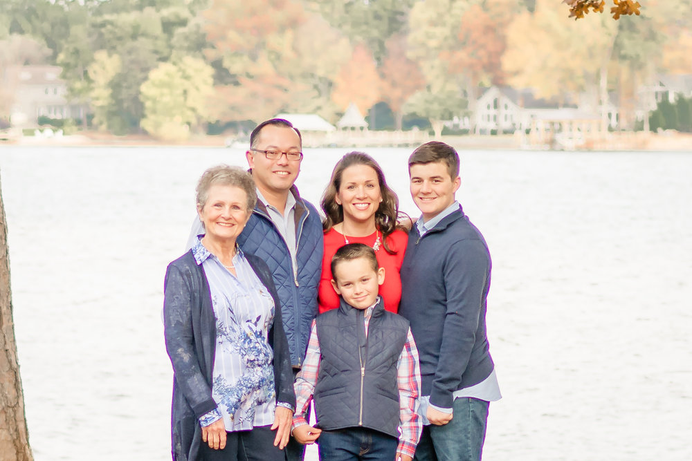 Lake Norman Family Session