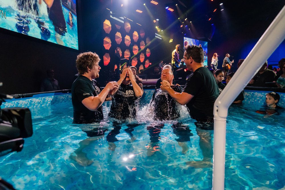 Mooresville Baptism