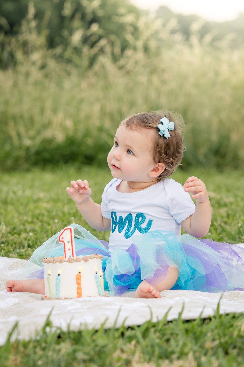 First Birthday Photo | Mooresville NC