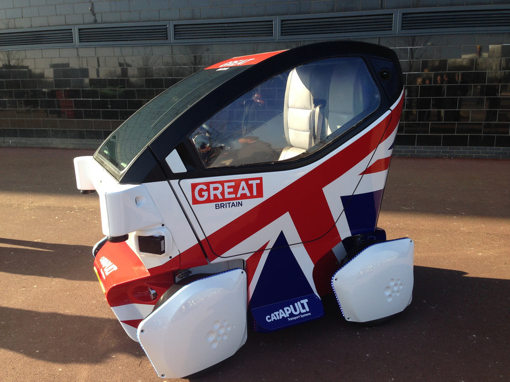 The emphasis on driverless cars may capture the zeitgeist, but there are lots more interesting things going on in the UK tech and R&D sectors that are equally (or more) worthy of government funding.  Image from UK Department for Transport's  flickr page