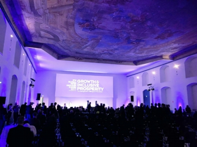 The Hall of Sciences, the venue of the Global Peter Drucker Forum 2017