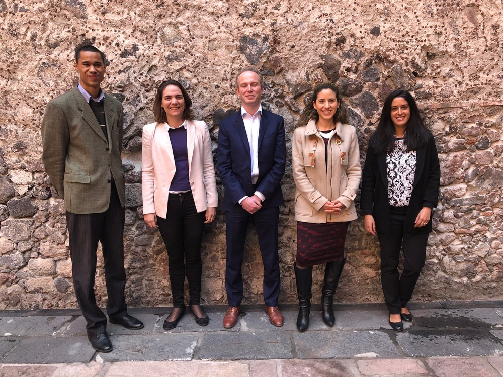 The C Minds and Oxford Insights team in Mexico