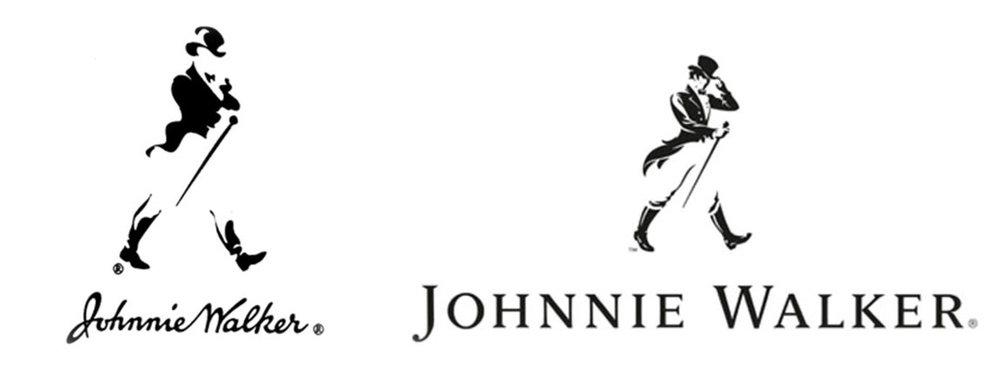 La nueva imagen gráfica de  Johnnie Walker  retoma el espíritu  dandy,  clásico y elegante, asociado con la marca.