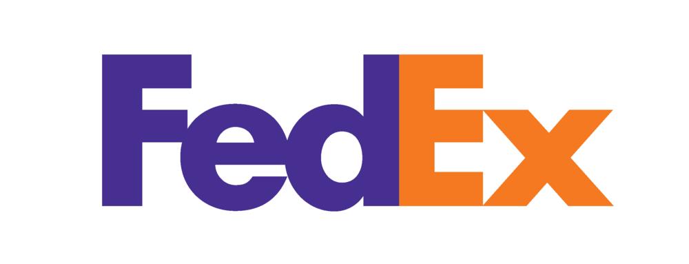 """El logotipo de FedEx es uno de los ejemplos clásicos de buen diseño, y con razón. La combinación de colores comunica dinamismo y llama la atención, la tipografía es moderna, corporativa y confiable, y la flecha oculta entre la """"E"""" y la """"x"""" le da un factor sorpresa a la vez que transmite movimiento y precisión."""