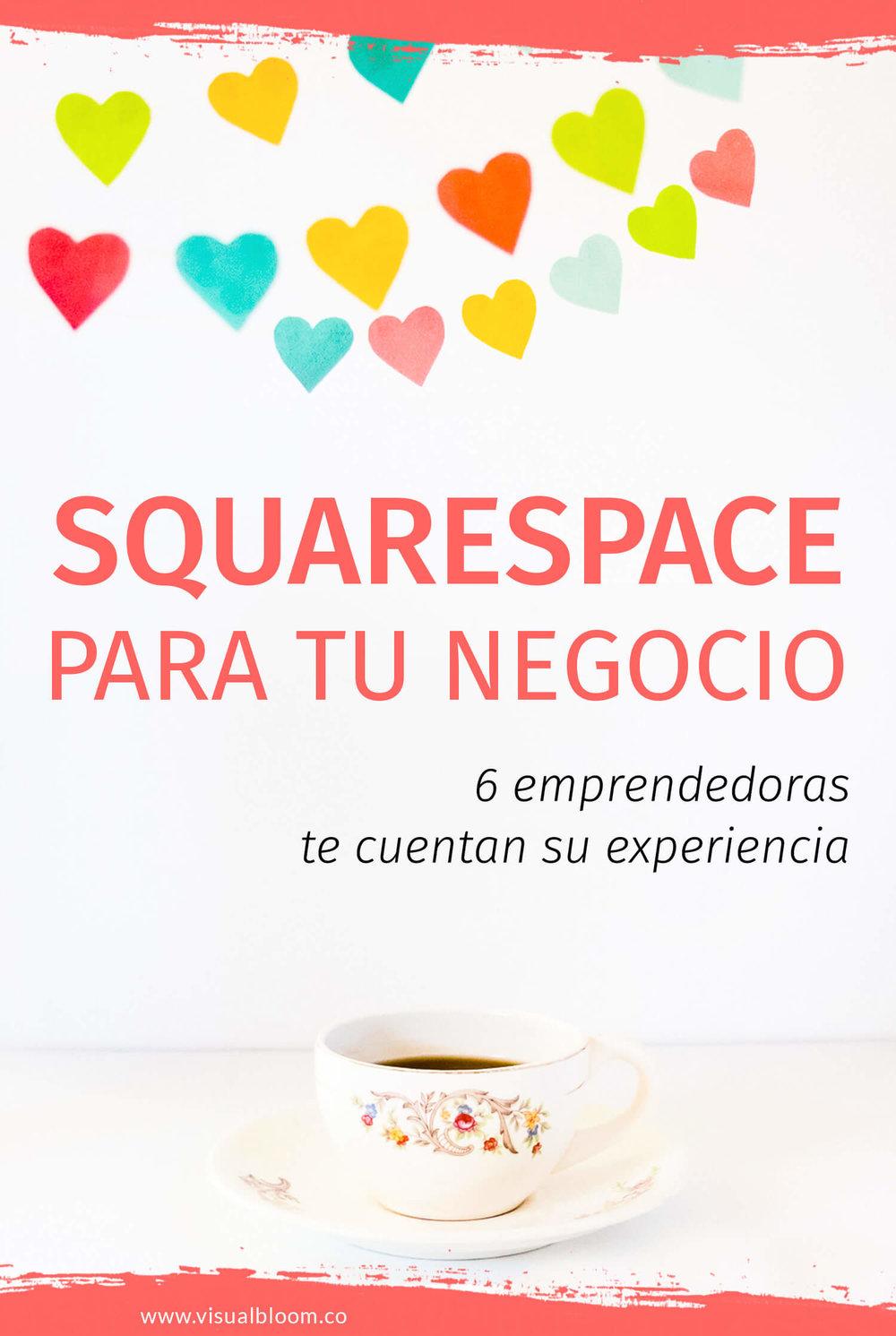 En este post te presento a seis emprendedoras que usan Squarespace para la web de sus negocios, para que te cuenten su experiencia y las ventajas de esta plataforma.