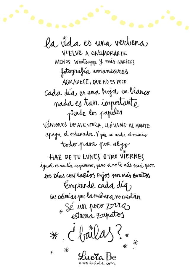 Manifiesto de Lucía Be.