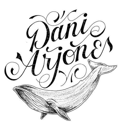 El logo de Dani Arjones, que ya había sido diseñado anteriormente.