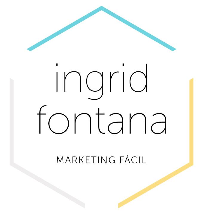 Logo final, con la tipografía Museo Sans y las líneas que forman un hexágono con los colores de marca.