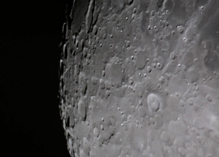 Tycho crater on the Moon