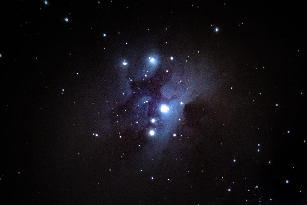 """NGC 1977, the """"Running Man Neula"""""""