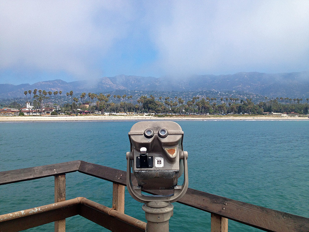 California Road Trip - Santa Barbara Pier