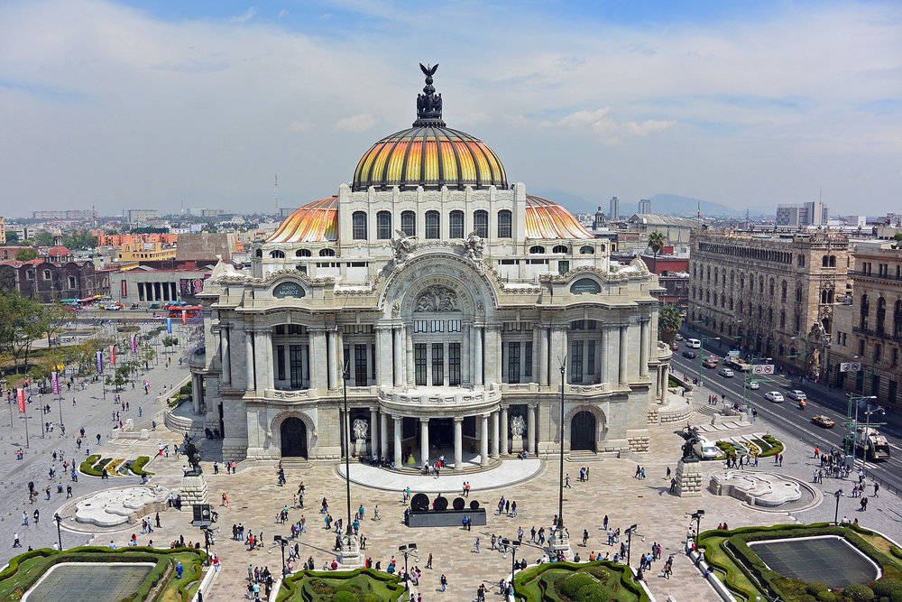 Things to do in Mexico City - Bellas Artes