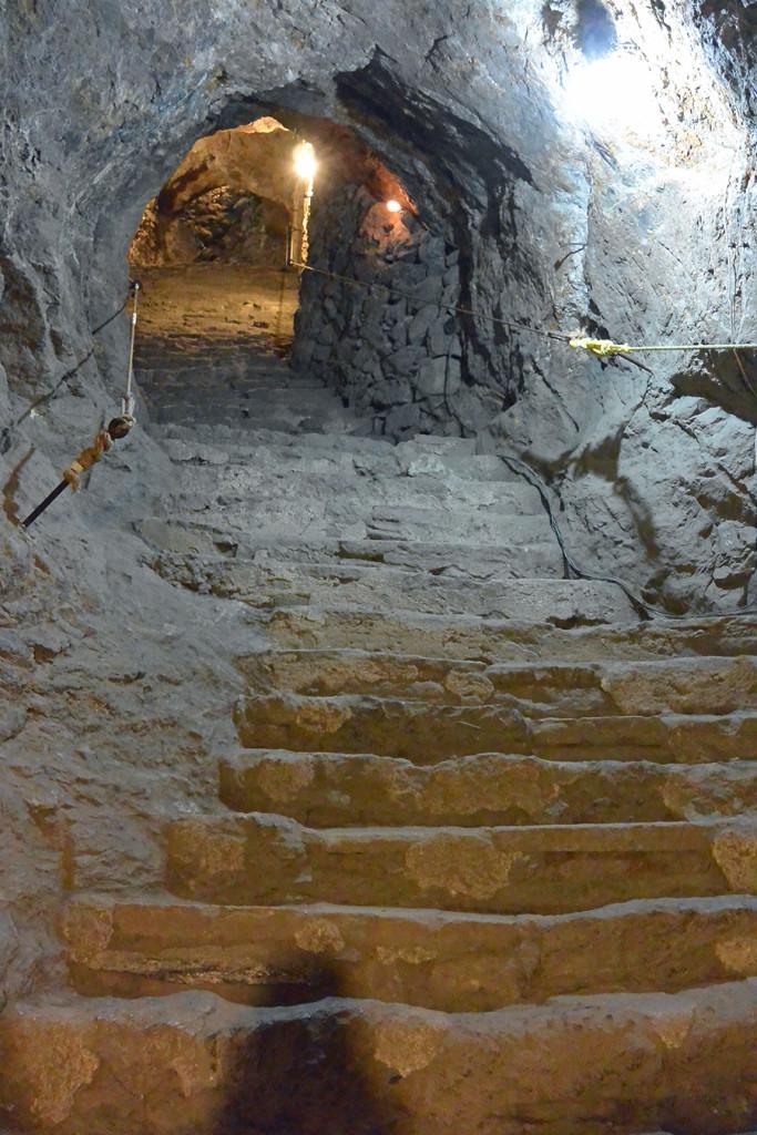 Mines in Guanajuato, Mexico