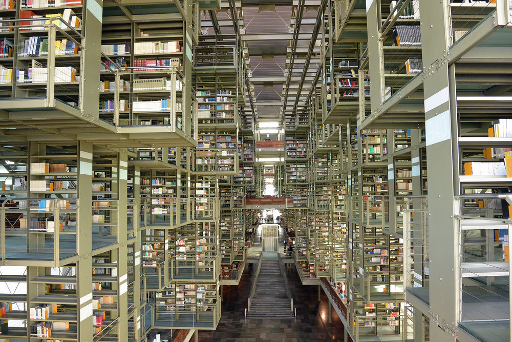 Unique Things to do in Mexico City - Vasconcelos Library