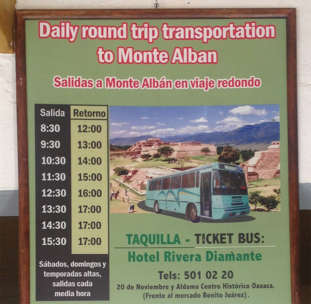 How to visit Monte Alban