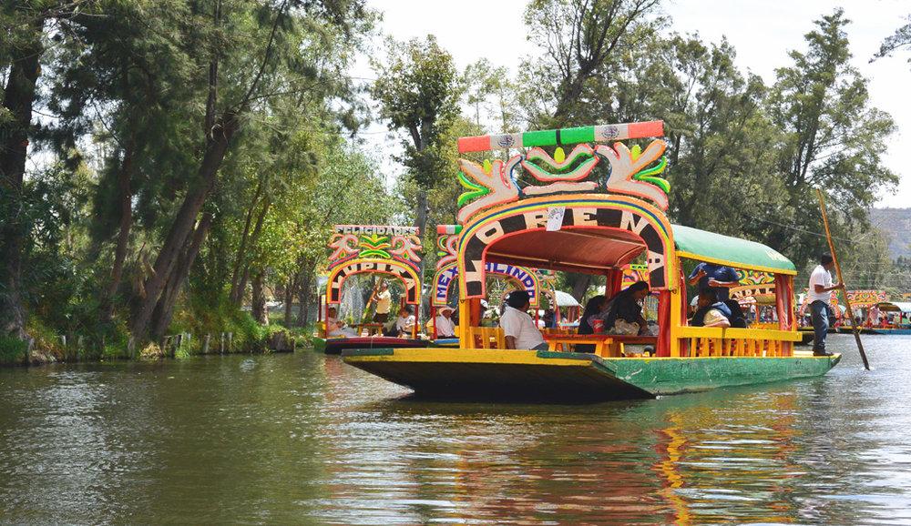 Mexico City Day Trips - Xochimilco