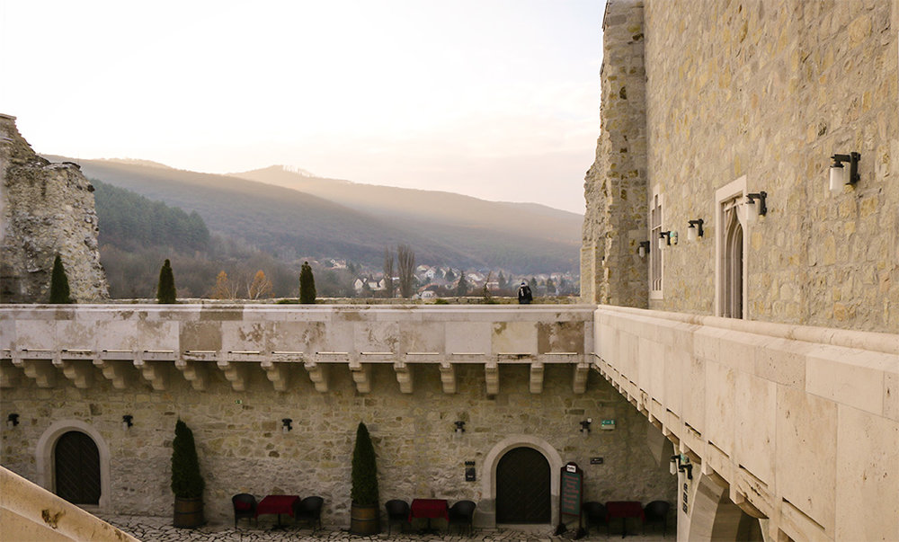 Castle of Diosgyor in Miskolc, Hungary