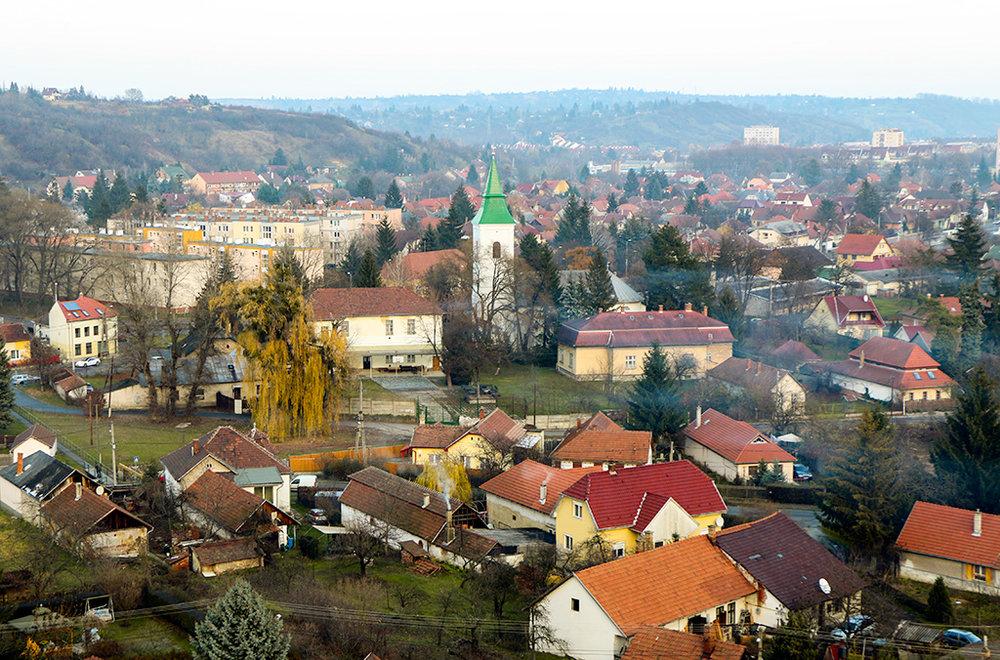 Fall in Miskolc, Hungary