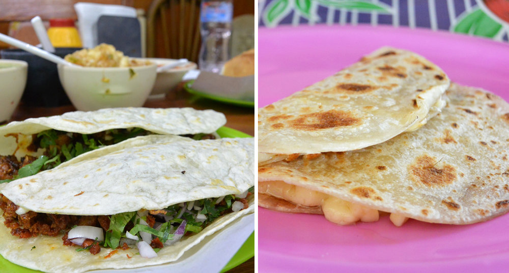 Authentic Mexican Street Food: Quesadillas