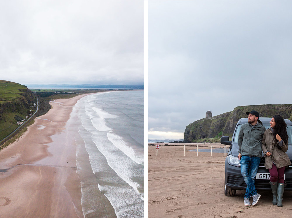 Northern Ireland Road Trip - Coastal Causeway Route