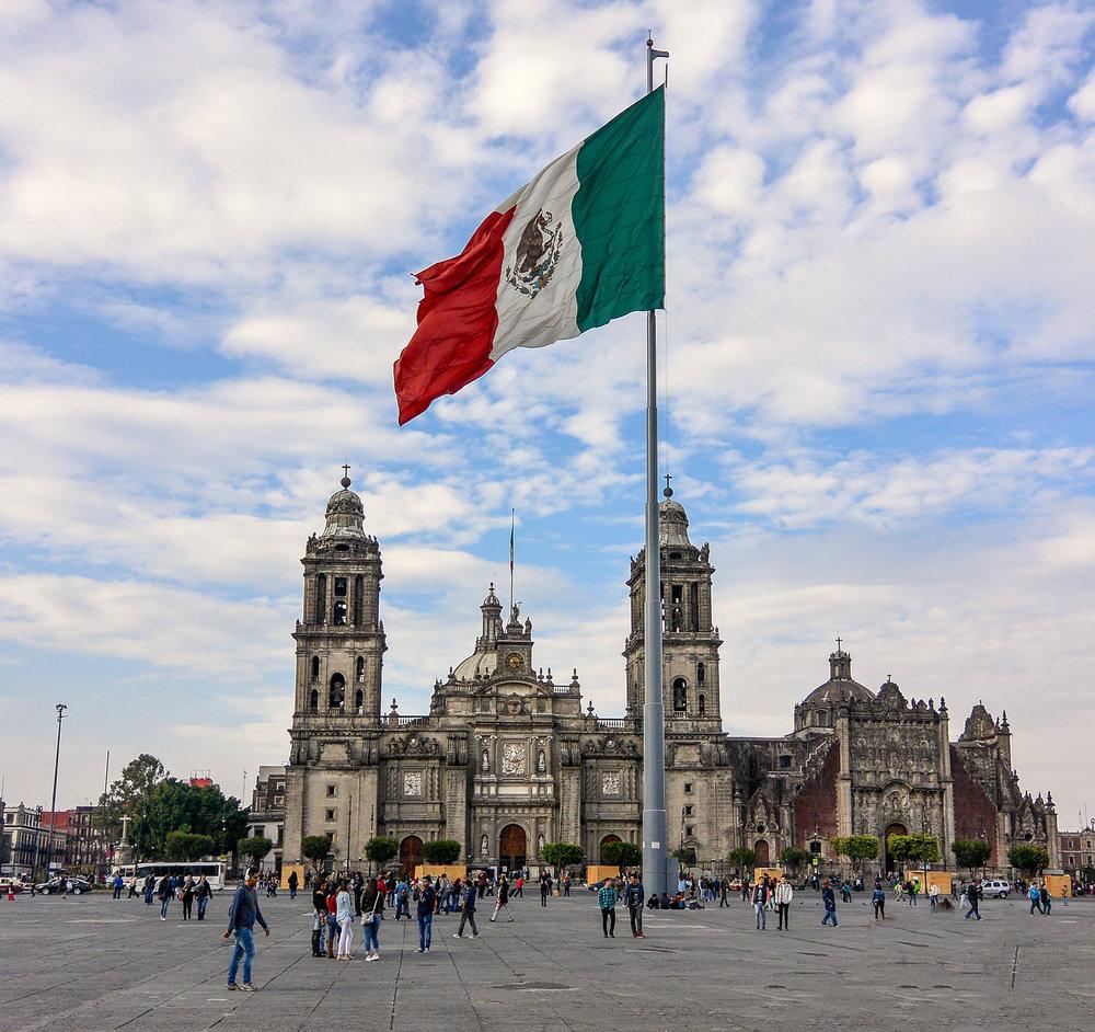 Cinco de Mayo, Mexico City Zocalo