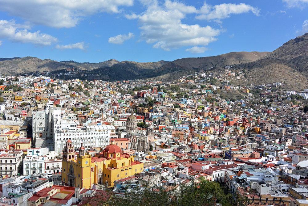 Best views in Guanajuato, Mexico