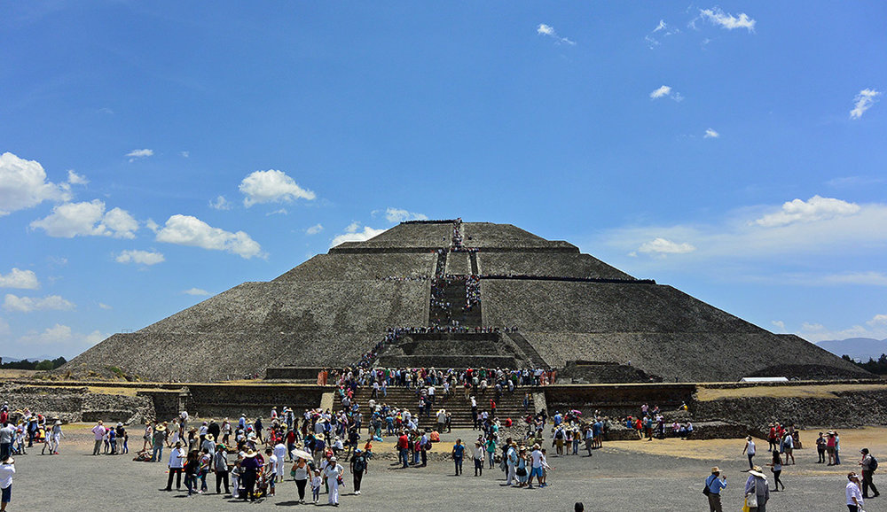 Teotihuacan World Map.The Best Way To Get To The Pyramids Of Teotihuacan Feather And The