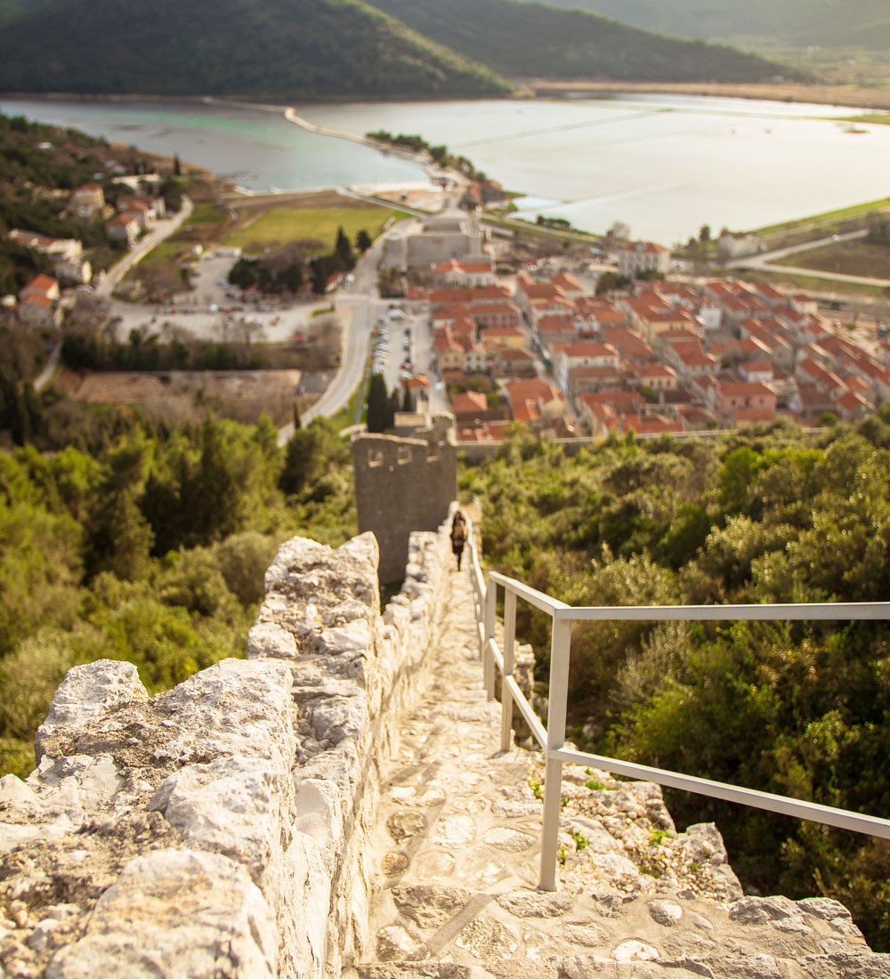 Walls of Ston, Croatia