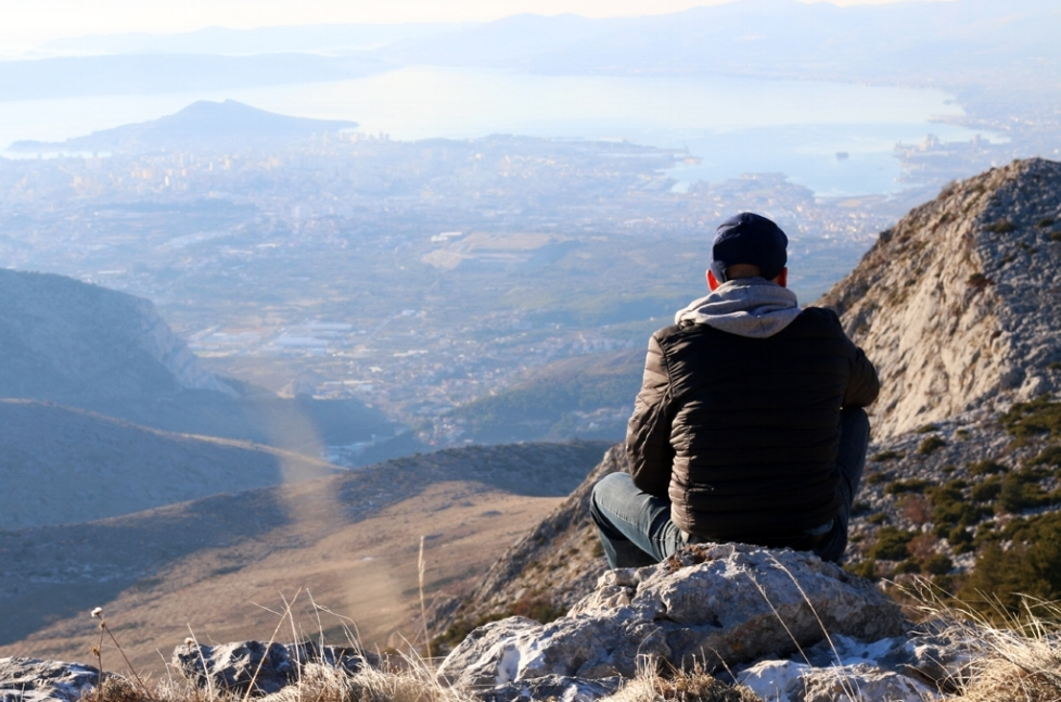 Mosor Mountain Hike near Split, Croatia