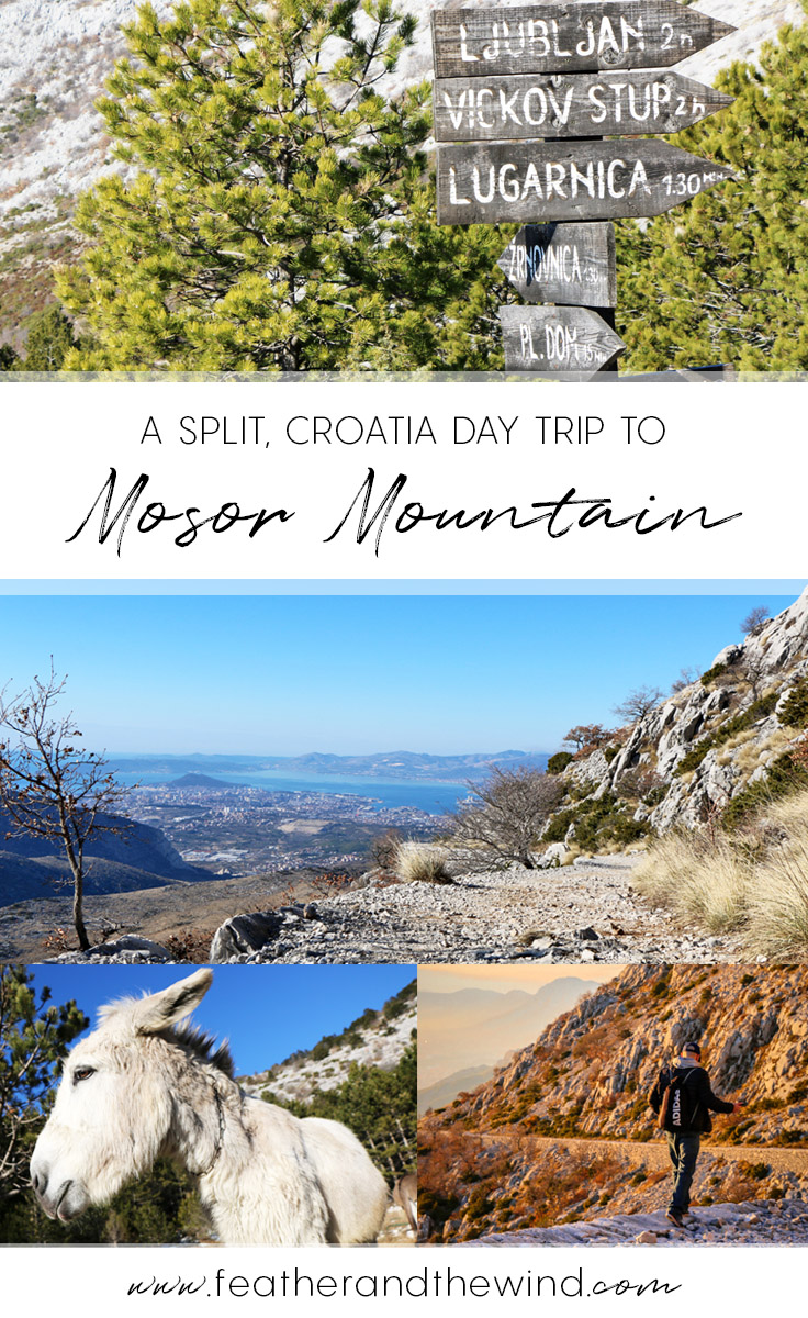 Mosor Mountain Hike in Croatia