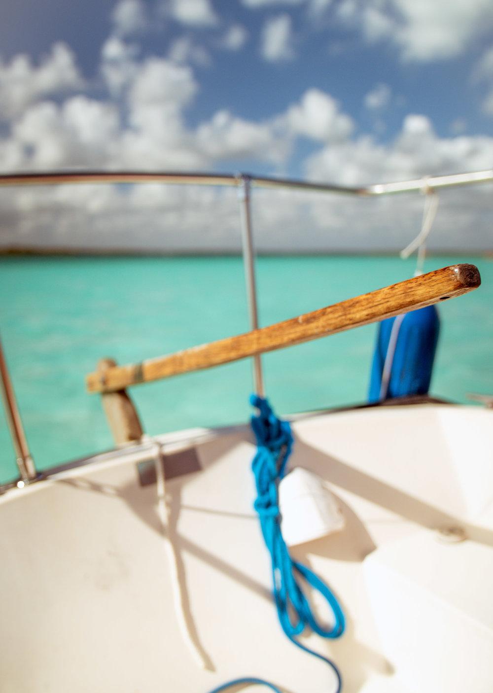 Bacalar Lagoon Sailing